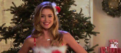 Doutzen Kroes en el vídeo de Navidad 2012