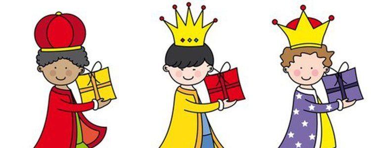 Reyes Magos niños
