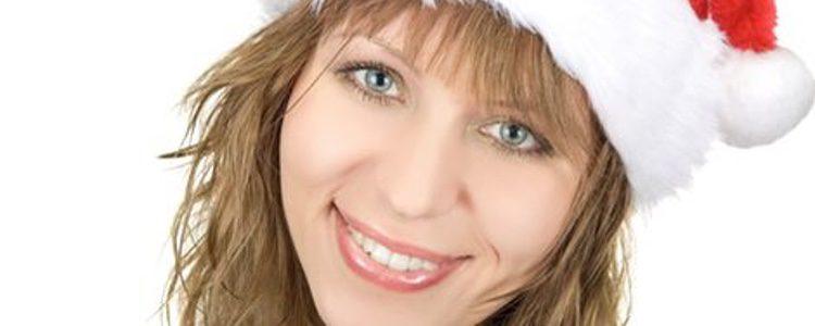 El maquillaje perfecto para el Día de Navidad