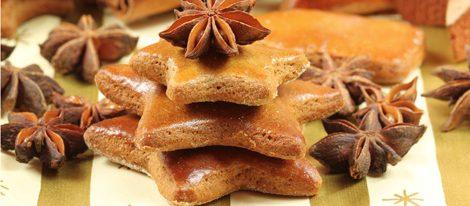 Árbol de Navidad hecho con galletas de mantequilla
