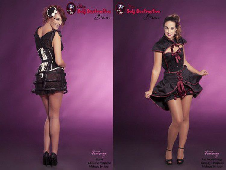 Looks de la colección 'Party Nights Essentiales' de Miss Self. Destructive