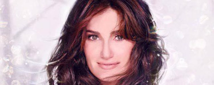 Portada del disco 'Holiday wishes' de Idina Menzel