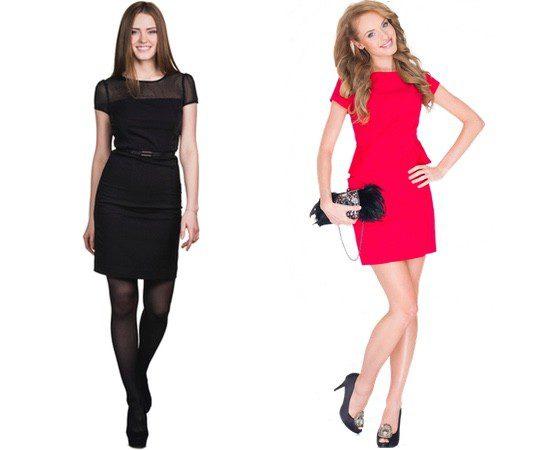 El vestido es la opción más popular para las cenas navideñas