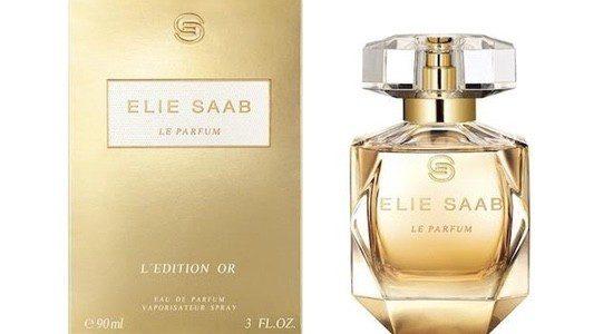 Estas Navidades olerá a Elie Saab y a su fragancia L'Edition Or
