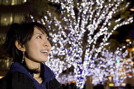 Los japoneses han importado las costumbres navideñas y ahora es una fiesta muy esperada