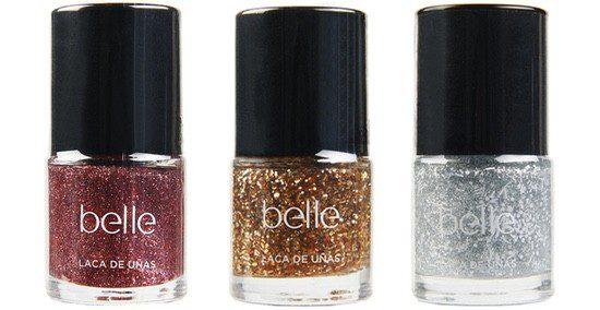 Belle & Make Up presenta una colección limitada de pintauñas brillantes para las Navidades