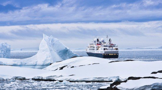 El crucero es el tipo de viaje idóneo para visitar el Polo Sur