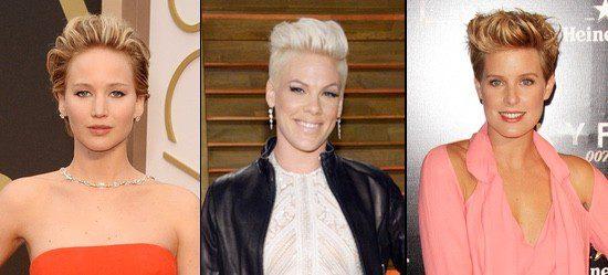 Jennifer Lawrence, Pink y Tania Llasera lucen looks para pelo corto