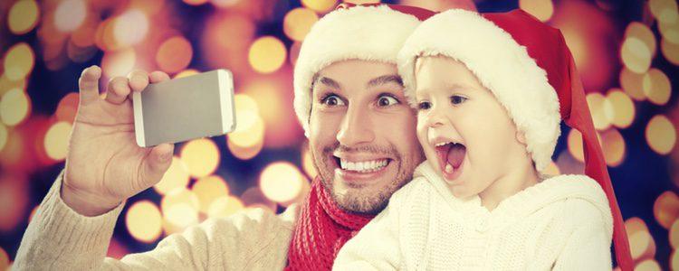 Recuerda la primera Navidad inmortalizando el mágico momento