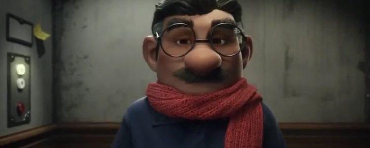 Justino, el protagonista del anuncio