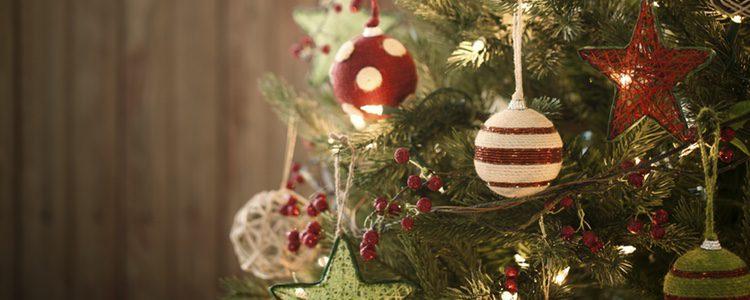 El árbol de Navidad es lo primero que se suele poner