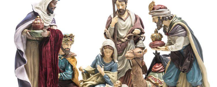 Los Reyes Magos y Pastorcillos también son muy importantes, si tienes espacio no olvides colocarlos
