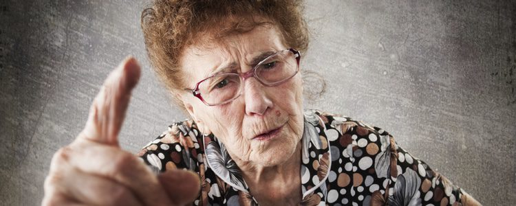 Una suegra malhumorada