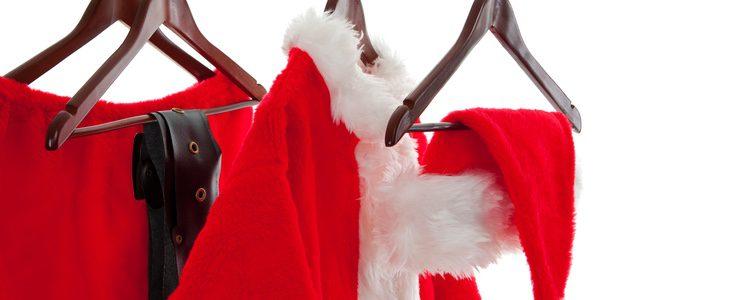 Parece que Papa Noel puede ayudarnos en los looks navideños