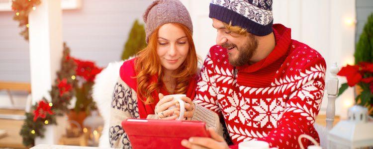 Las escenas de las películas nos meten en el papel navideño