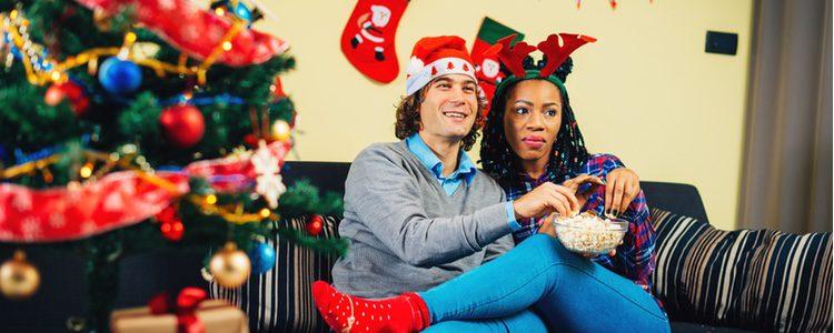Un plan para Navidad es ver películas