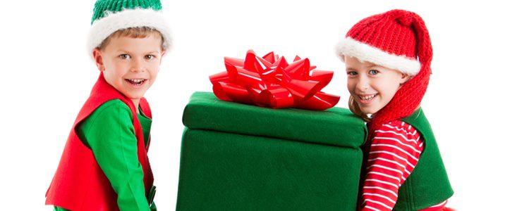 El disfraz de regalo es muy divertido de hacer y muy original