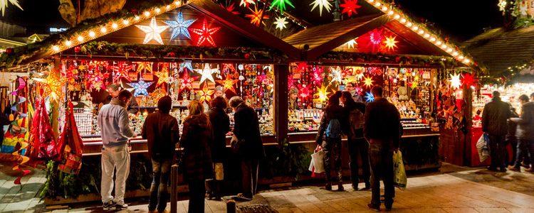 También hay mercados navideños que visitar
