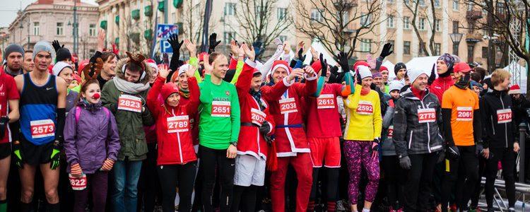 Participar en una carrera el 31 de diciembre se ha convertido en una verdadera tradición