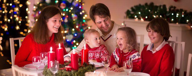 La navidad es una época muy familiar