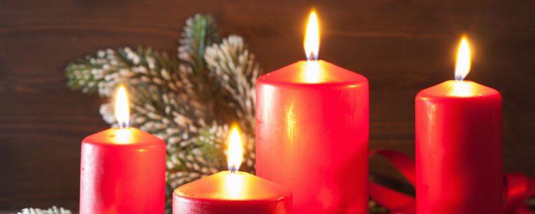 Las velas aportan mucho confort y pueden usarse todo el año