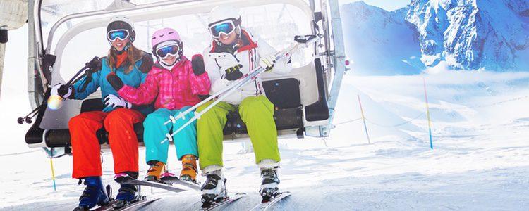 Esquiar para desconectar, y que mejor forma de hacerlo que acompañado de tu familia