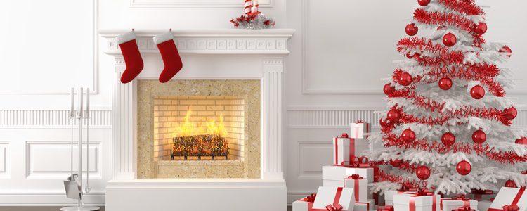 La chimenea es ideal para dar un toque personal a la decoración