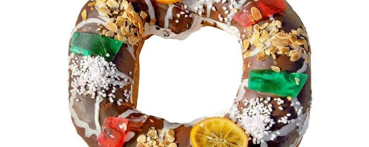 El roscón de Reyes con glaseado de chocolate es cada vez más popular