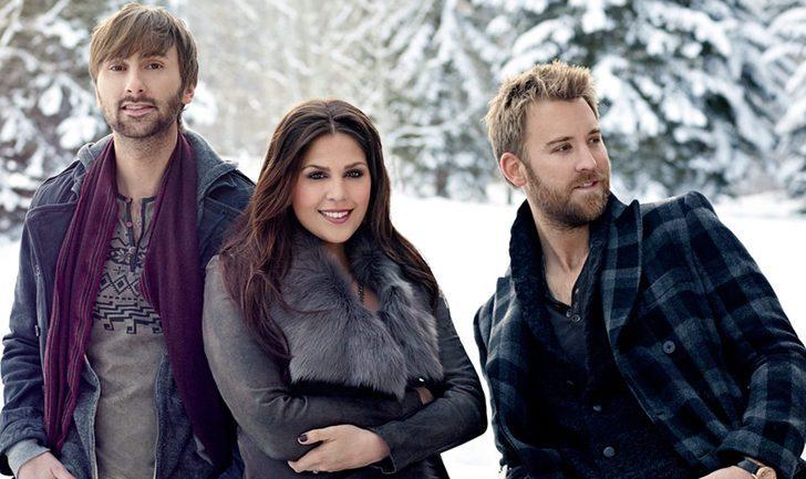 Lady Antebellum lanza 'On this Winter's Night', su primer disco de temas navideños