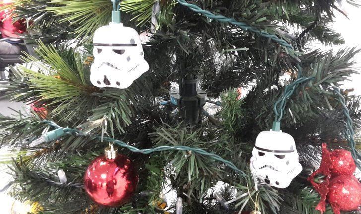 Decoración navideña: engalana tu árbol de Navidad con 'Star Wars'