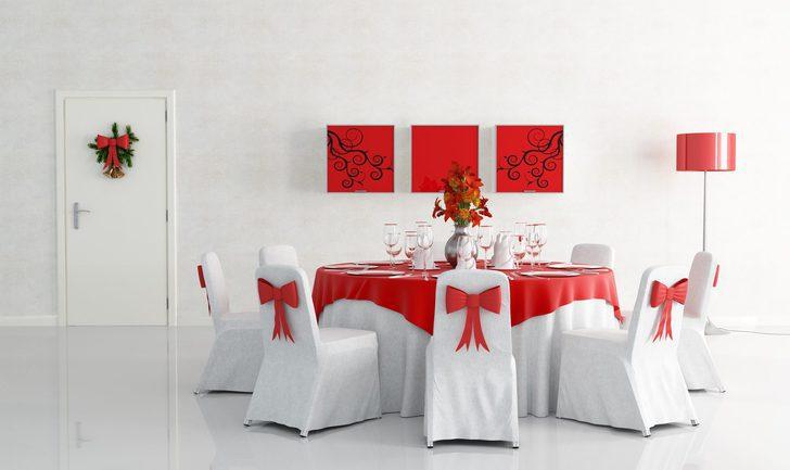 Cómo decorar las sillas para tus reuniones navideñas