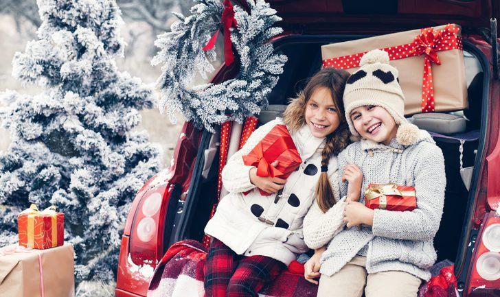 Viajar con niños en Navidad: cómo organizarlo