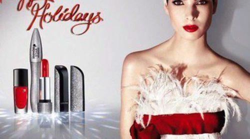 Lancôme apuesta por el look gélido con su 'Happy Holidays 2013'