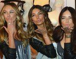 Los ángeles de Victoria&quote;s Secret desean feliz Navidad 2012 disfrazadas de Mamá Noel
