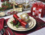 Decoraci�n mesas de Navidad: el rojo como protagonista