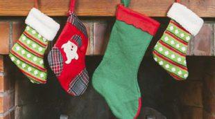 Calcetines de Navidad: decora tu chimenea