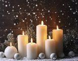 Decoraci�n navide�a con velas: ideas para centros de mesa