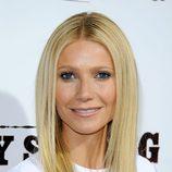 Peinados para Navidad: el pelo liso de Gwyneth Paltrow
