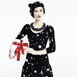 Vestido negro de Blanco para esta Navidad 2011