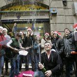 Celebración del sorteo de la Lotería de Navidad