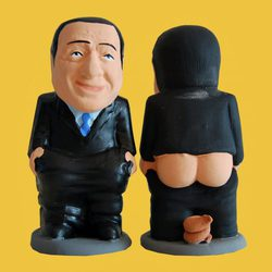 Caganer de Berlusconi