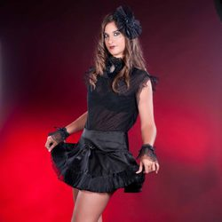Conjunto de minifalda y camisa de la firma Miss Self Destructive