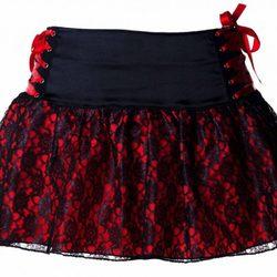 Mini falda de la firma Miss Self Destructive
