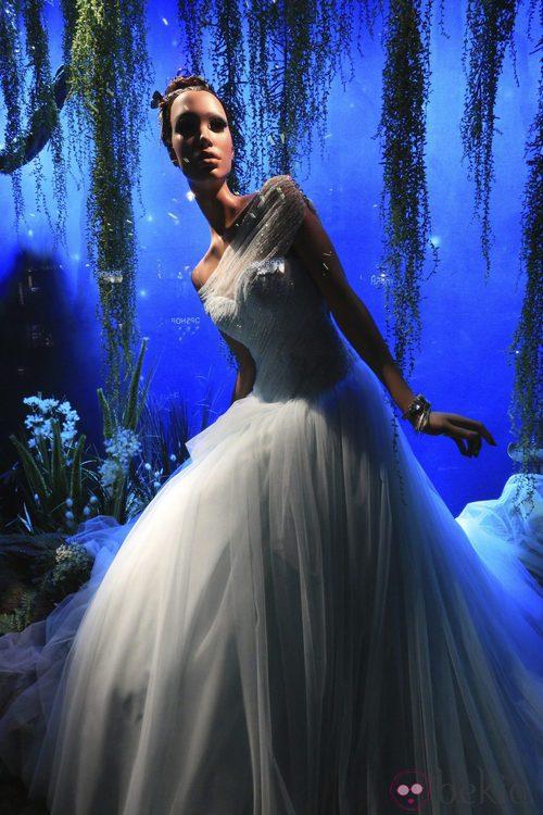 La Princesa Disney Tiana vestida de Ralph & Russo