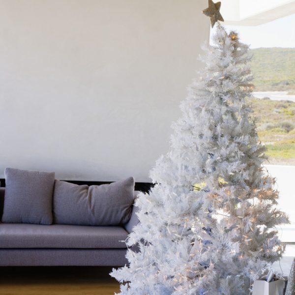 Rbol de navidad blanco fotos de navidad - Arboles navidad blancos ...