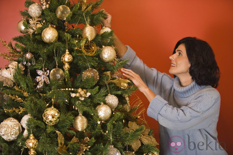 anterior adornos grandes y variados para el rbol de navidad