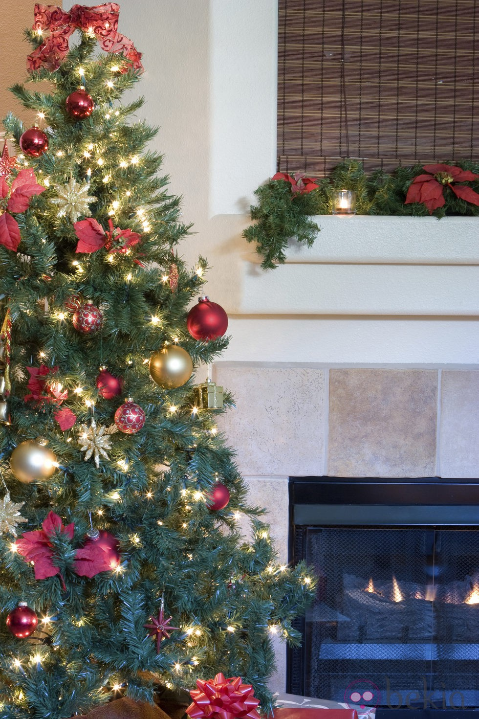 Rbol de navidad la importancia de las luces fotos de - Luces led para arbol de navidad ...