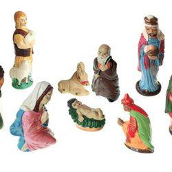 Figuras del Belén de Navidad