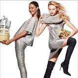 Prendas brillantes de la nueva campaña navideña 2014 de H&M