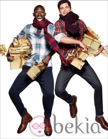 Camisas de cuadros de la nueva campaña navideña 2014 de H&M